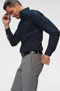 tommy hilfiger overhemd met lange mouwen »core stretch slim poplin shirt«