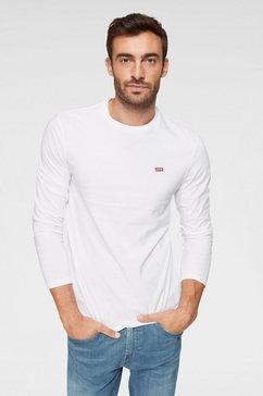 levi's shirt met lange mouwen wit