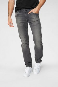 lee regular fit jeans »daren« zwart
