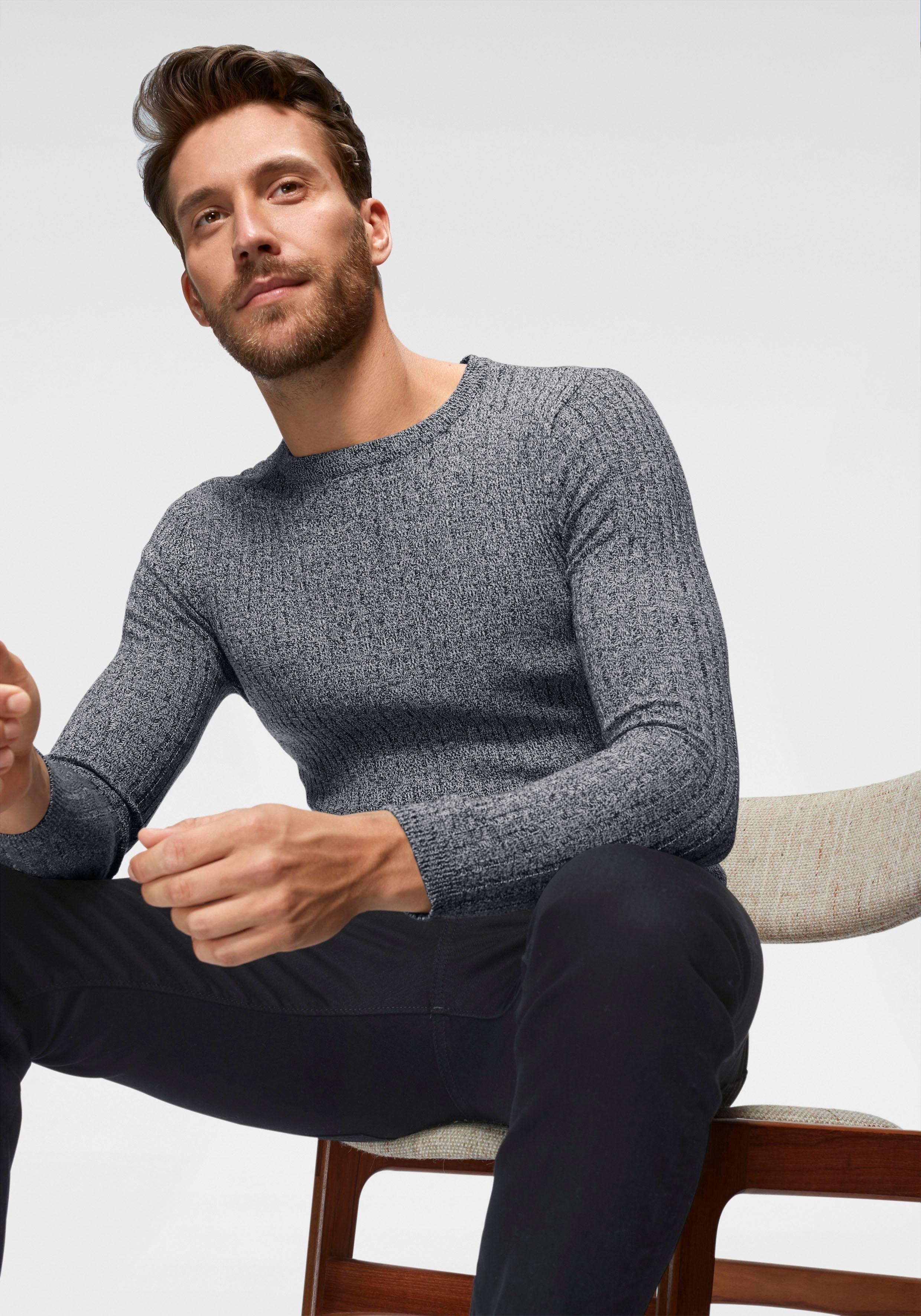 John Devin trui met ronde hals veilig op otto.nl kopen