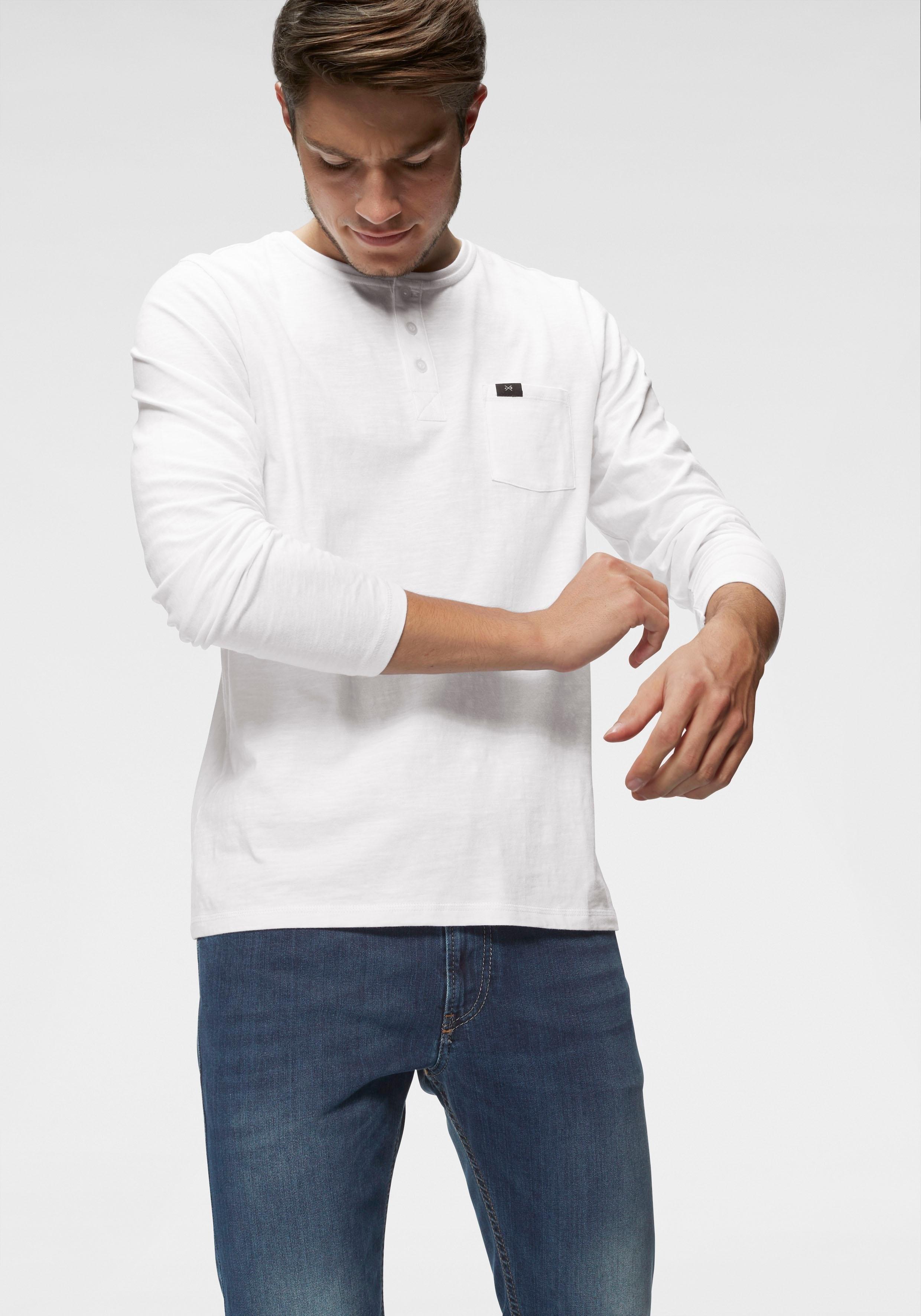John Devin shirt met lange mouwen goedkoop op otto.nl kopen