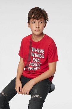 buffalo t-shirt rood