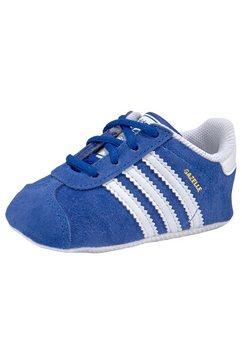 adidas originals babyschoentjes »cazelle crib« blauw