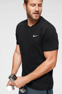 nike trainingsshirt dri-fit mens training t-shirt zwart