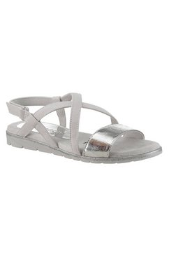 tamaris sandalen »sidra« grijs