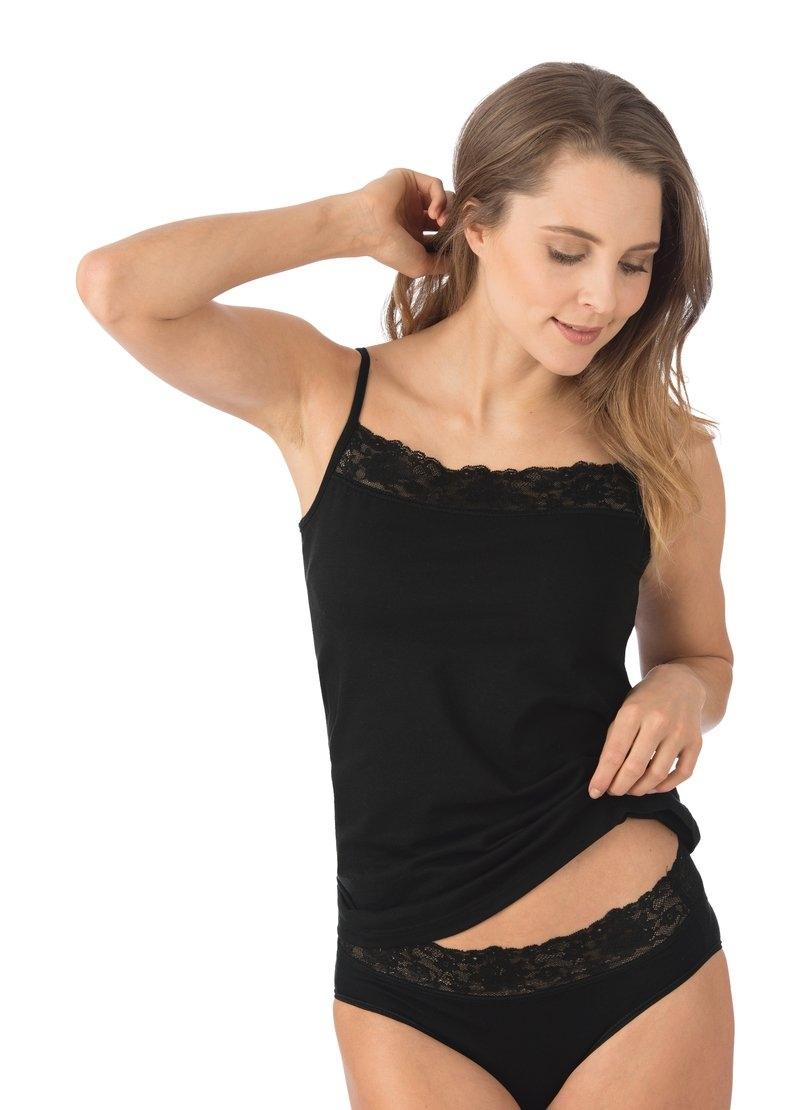 Trigema Onderhemd met spaghettibandjes en kant nu online bestellen