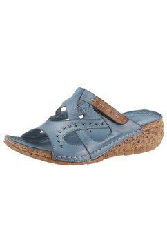 gemini slippers blauw