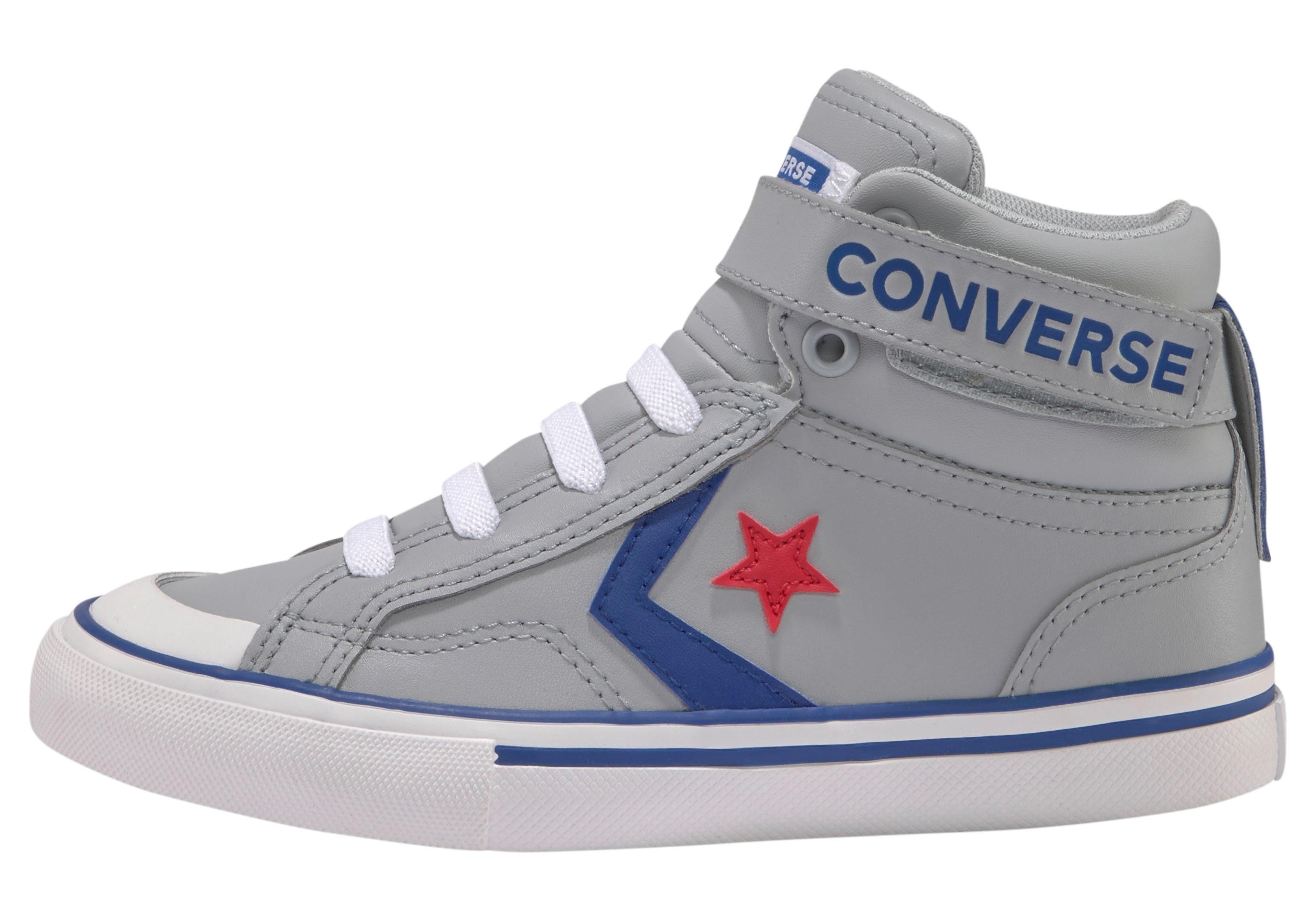 converse leren sneakers pro blaze zwart