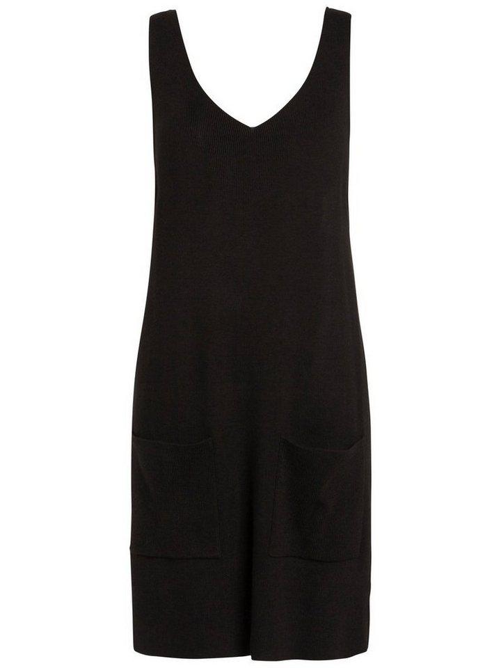 Pieces gebreide Korte jurk zwart