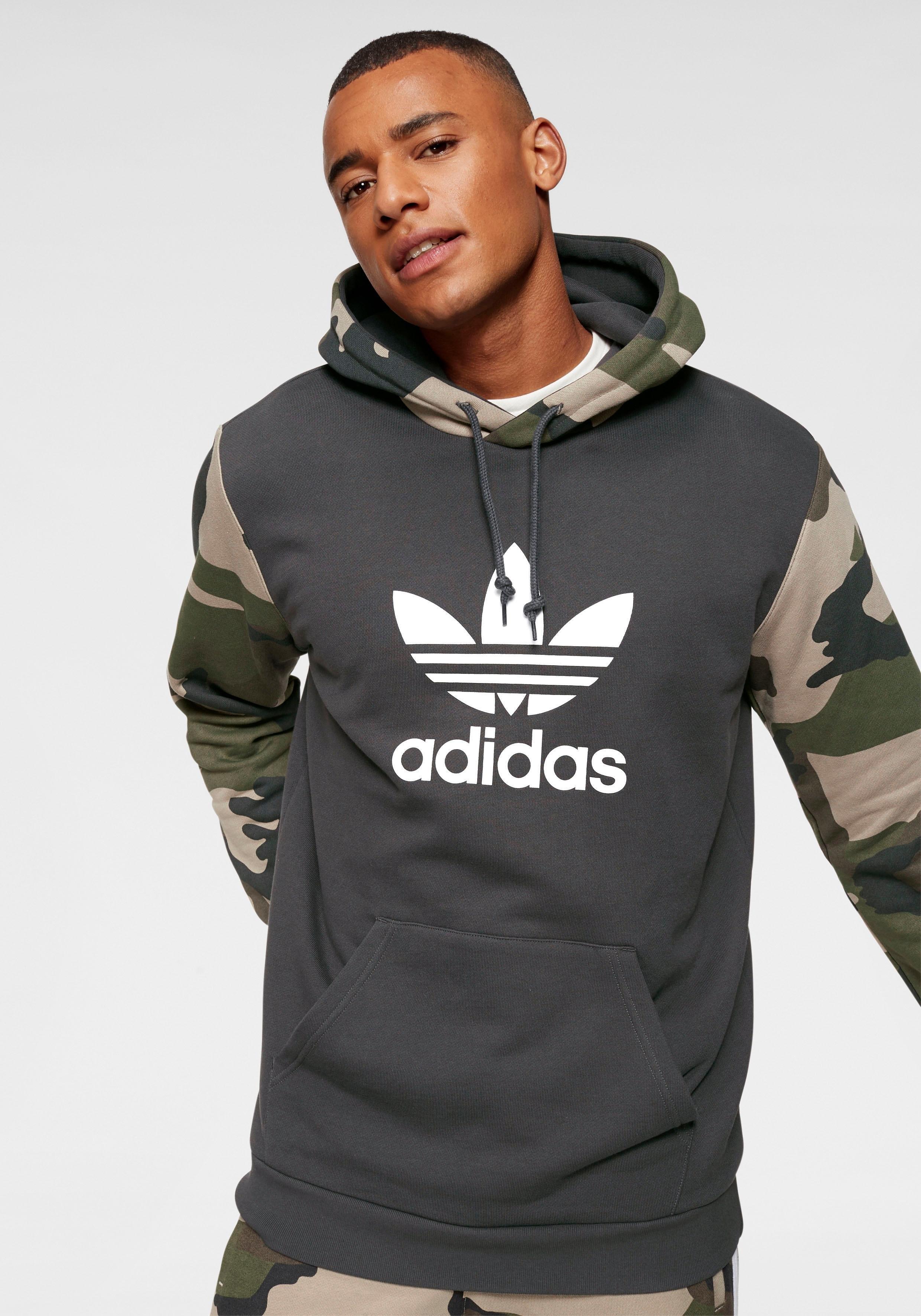 11a1b0c2be3 ... adidas Originals sweatshirt »TREFOIL CREW«, adidas Performance  capuchonsweatshirt »Core 18«