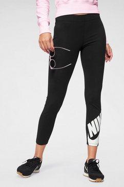 nike sportswear legging »w nsw legasee lggng 7-8 futura« zwart