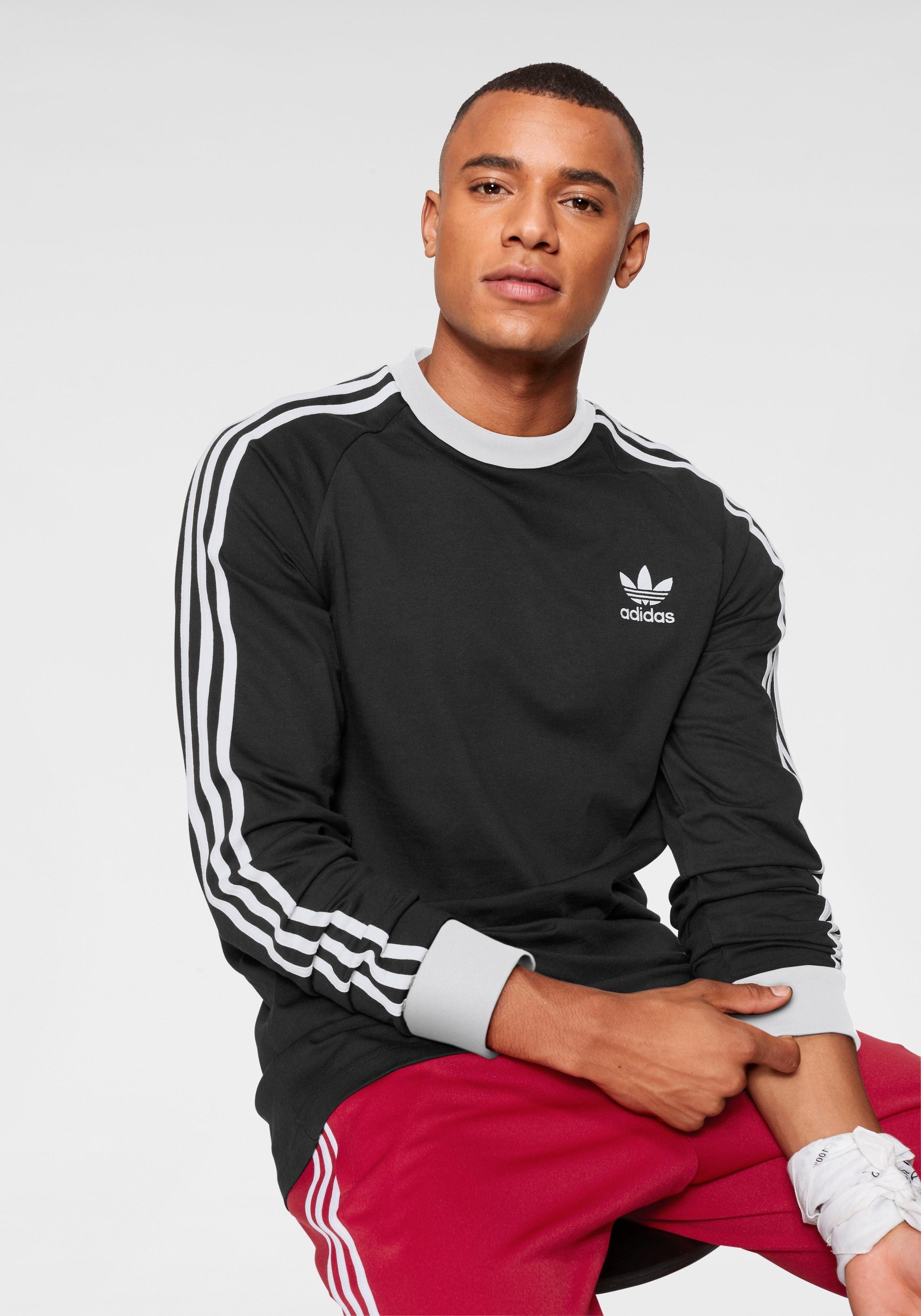 adidas Originals shirt met lange mouwen 3-STRIPES LONGSLEEVE voordelig en veilig online kopen