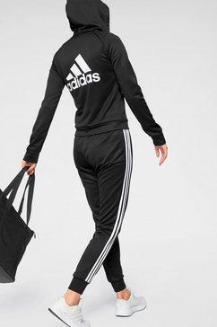 adidas performance trainingspak »tracksuit big bos col« zwart