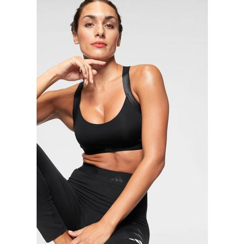 adidas Women's All Me Warrior Sports Bra Black M Black