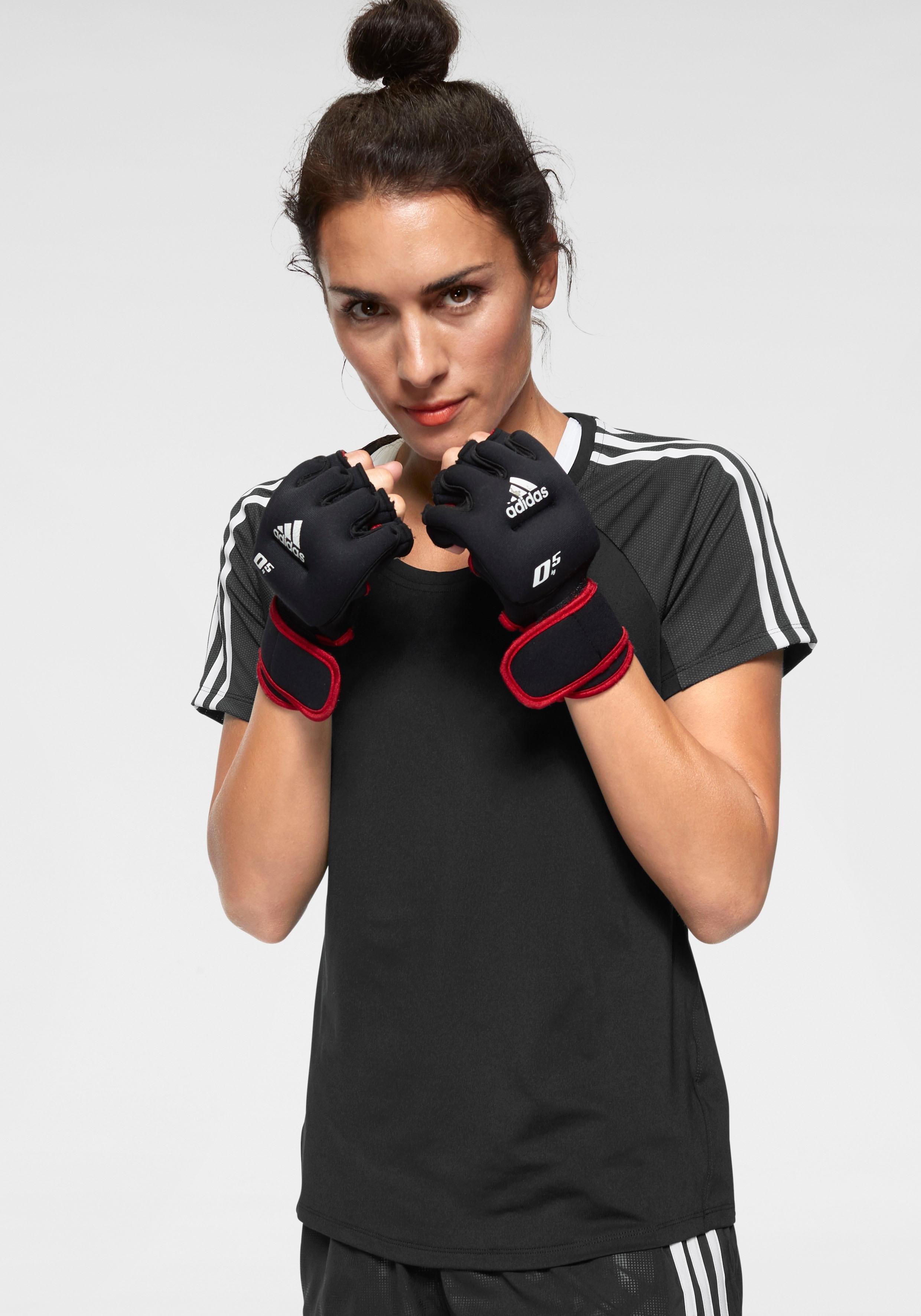 adidas Performance functioneel shirt »TRNG TEE 3 STRIPES« bestellen: 14 dagen bedenktijd
