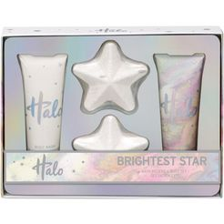 halo, »brightest star«, lichaamsverzorgingsset (4-delig) wit