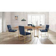 guido maria kretschmer homeliving stoel kiarwei in een set van 2 (set, 2 stuks) blauw