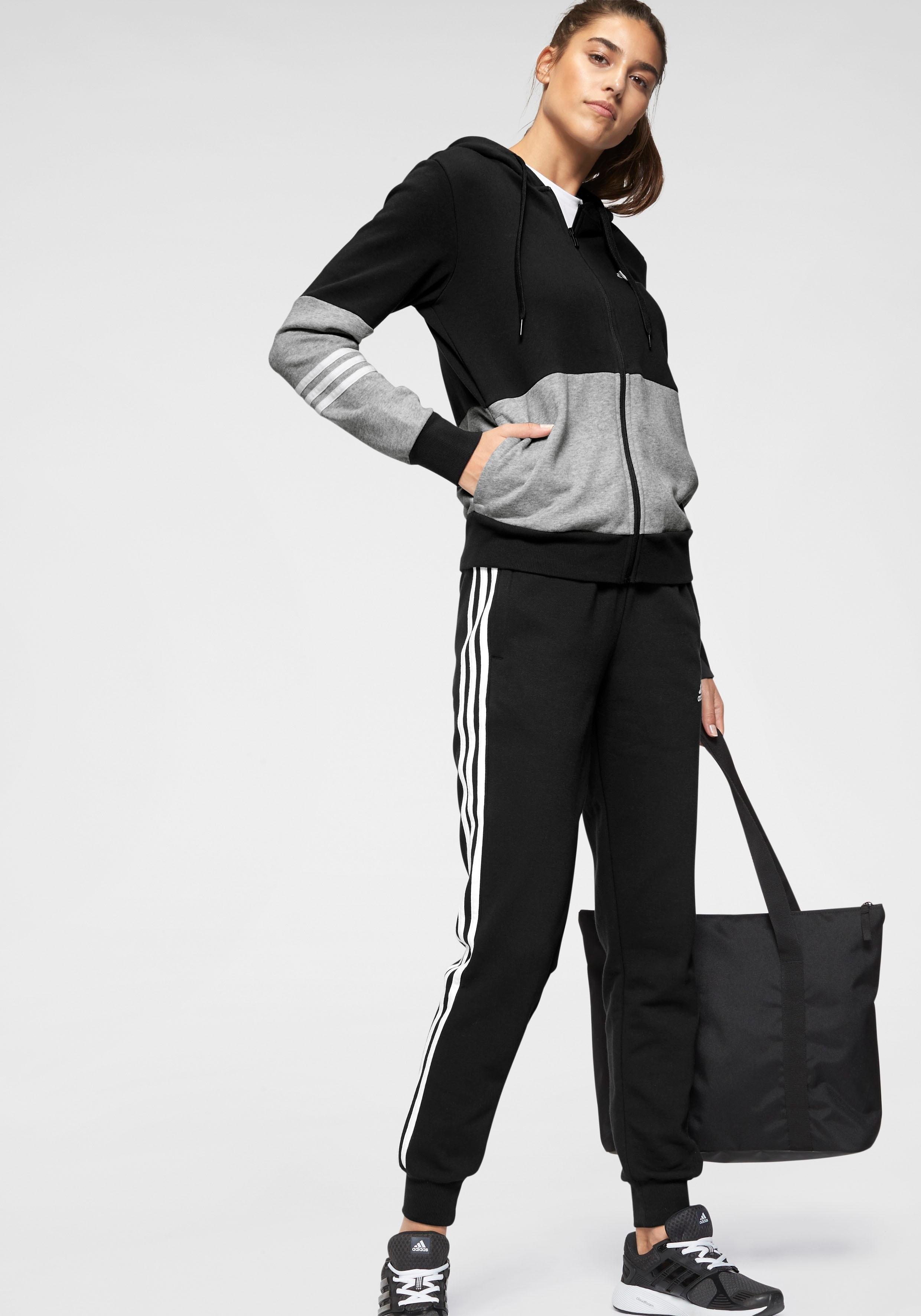 adidas Performance joggingpak »TRACKSUIT COTTON ENERGIZE« nu online bestellen