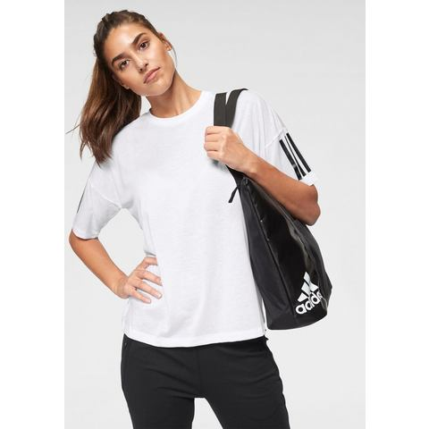 NU 15% KORTING: adidas Performance T-shirt MH STRIPES T-SHIRT