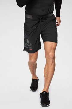 reebok functionele short »ost epic ltwt short« zwart