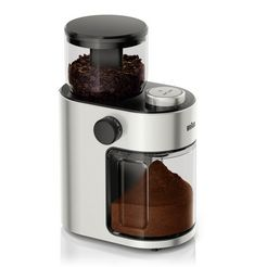 braun »kaffeemuehle freshset kg7070« koffiemolen zilver