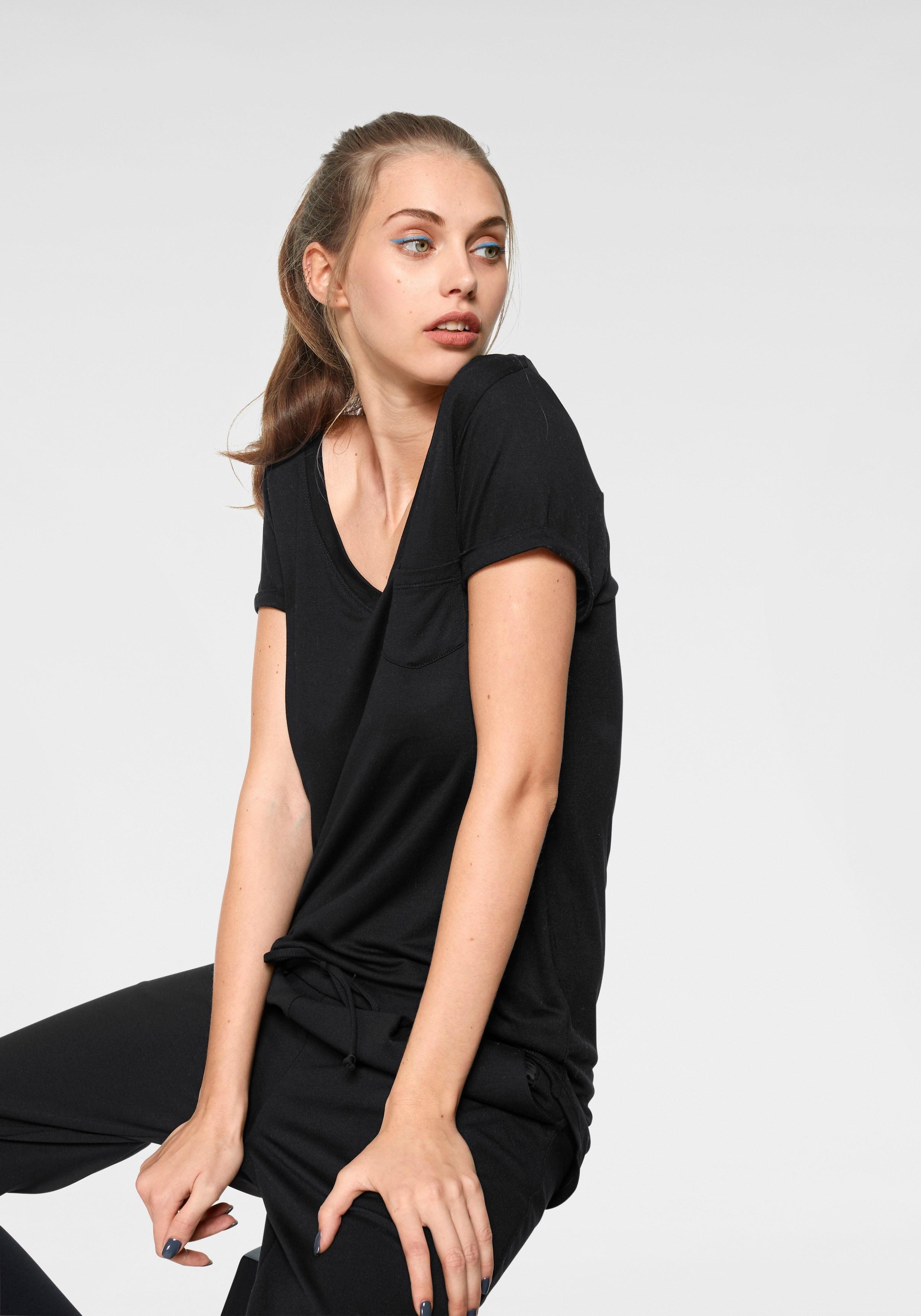 AJC Oversized shirt met opgestikte borstzak voordelig en veilig online kopen