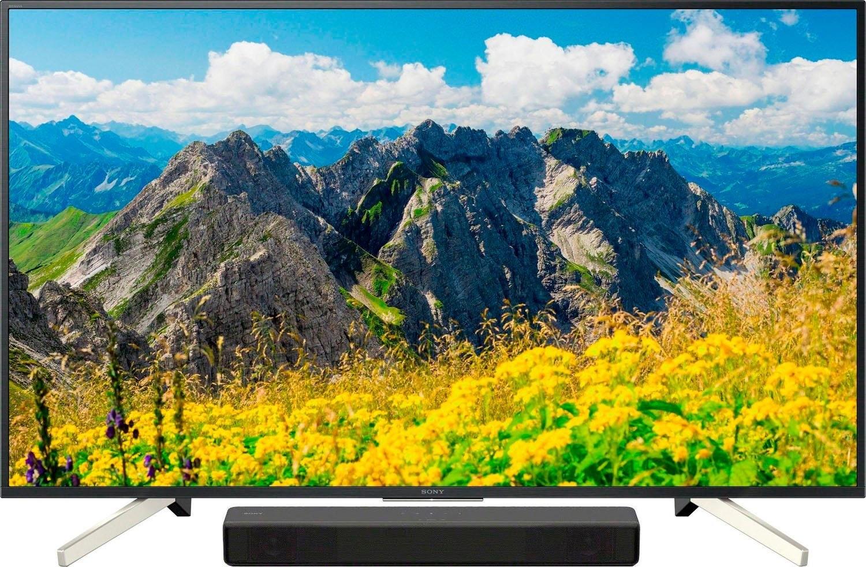SONY KD55XF7596 + HTSF200 led-tv (55 inch), 4K Ultra HD bij OTTO online kopen