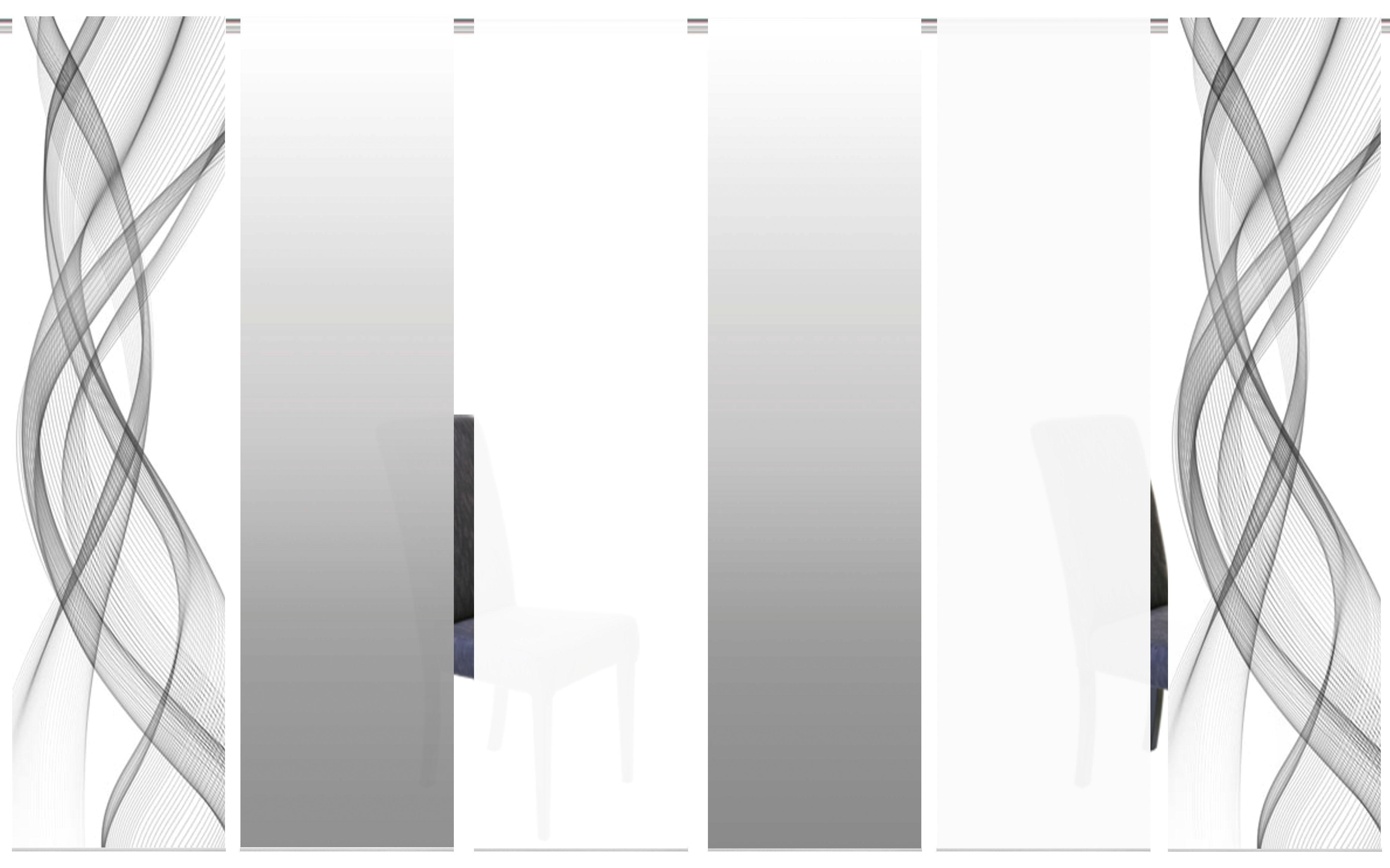 Op zoek naar een HOME WOHNIDEEN paneelgordijn FERROLA HxB: 245x60, inclusief bevestigingsmateriaal (6 stuks)? Koop online bij OTTO