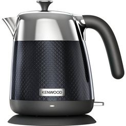kenwood waterkoker, mesmerine zjm810.bk, 1,6 liter, 2200 watt zwart