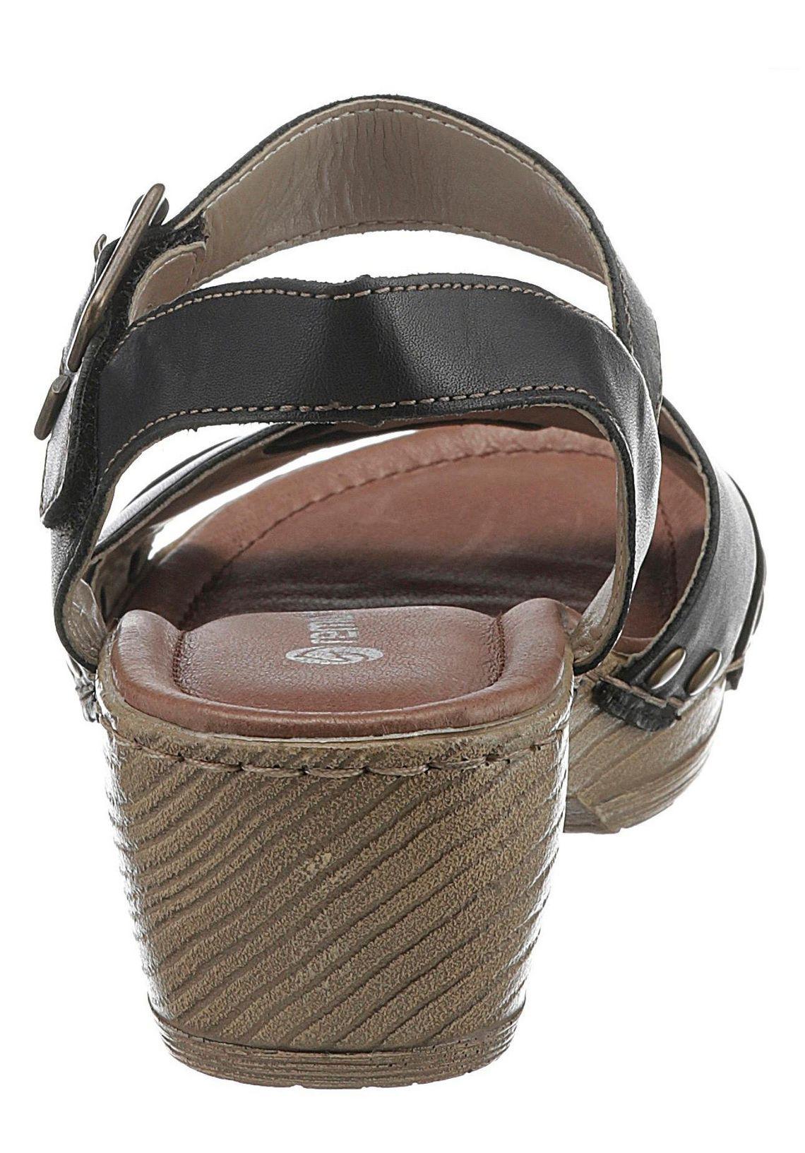 Remonte sandaaltjes koop je bij  zwart