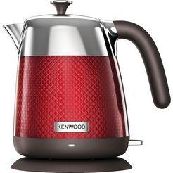 kenwood waterkoker, mesmerine zjm810.rd, 1,6 liter, 2200 watt rood