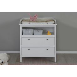 commode »westerland« in wit breedte 90 cm wit