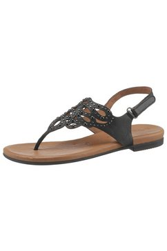 tamaris sandalen »kim« zwart