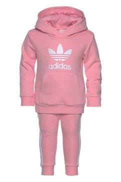 adidas originals joggingpak »trefoil jogger« (set, 2-dlg.) roze