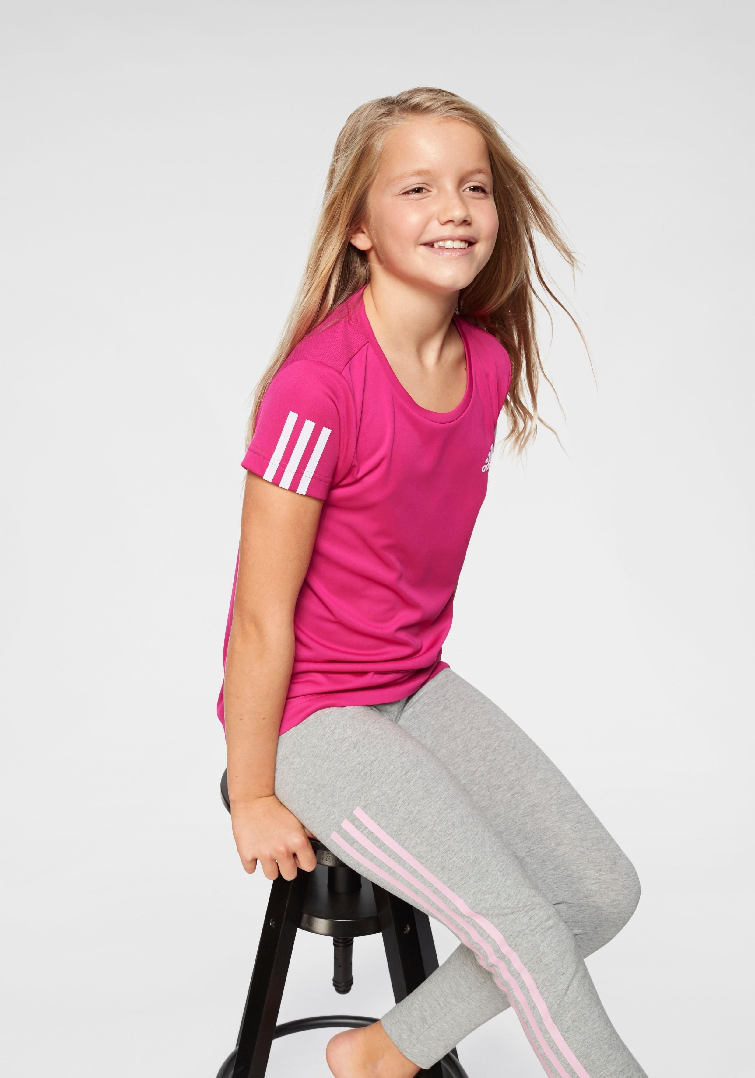 adidas Performance trainingsshirt »YOUNG GIRL TRAINING EQUIPMENT TEE« online kopen op otto.nl