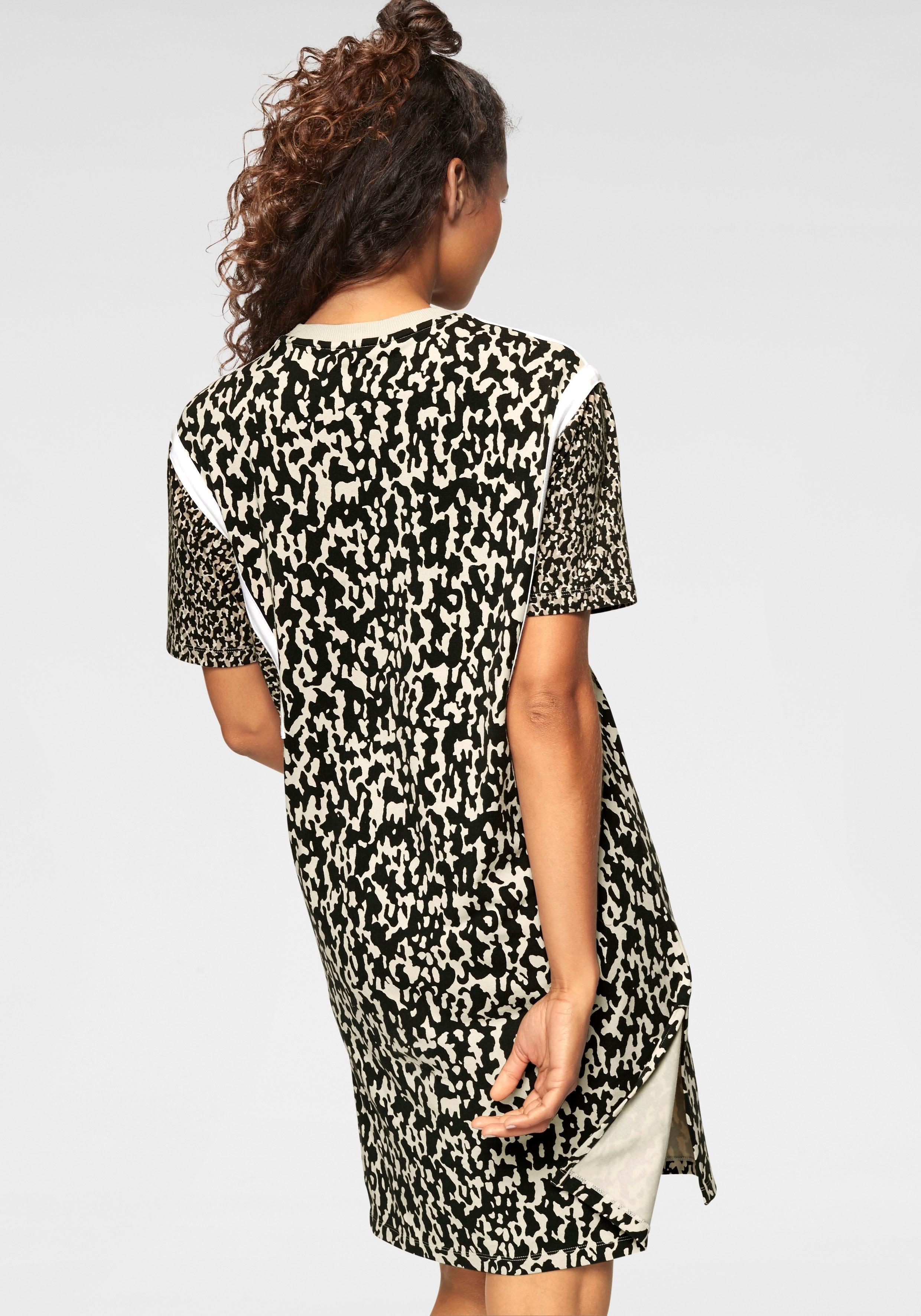 adidas Originals jerseyjurk »LEOFLAGE TEE DRESS« online bij  2f114ae4b
