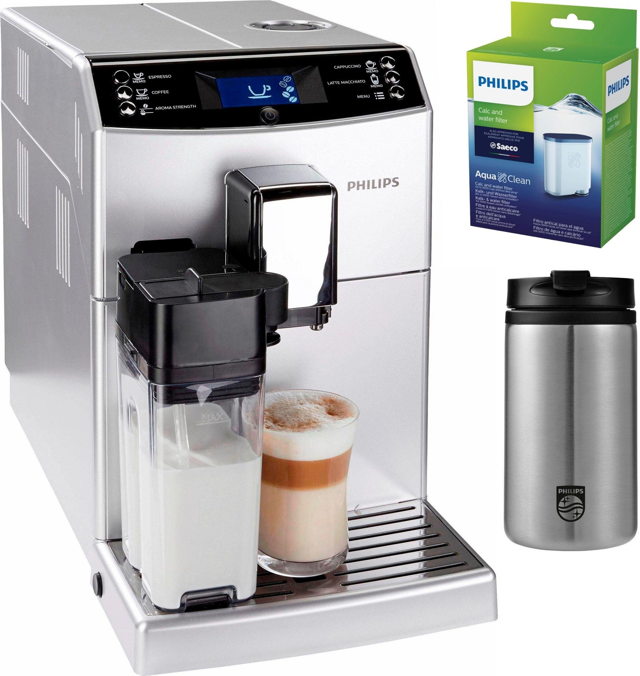 Philips volautomatisch koffiezetapparaat 3100 serie EP3551/11, schijfmaalwerk in de webshop van OTTO kopen