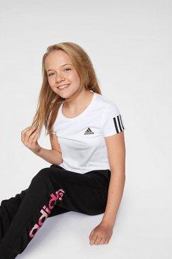 adidas performance trainingsshirt »young girl training equipment tee« wit