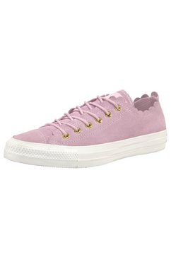converse sneakers »chuck taylor all star ox suèdeleer« paars
