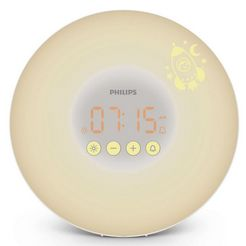 philips daglichtwekker »hf3503-01 wake up light for kids« wit