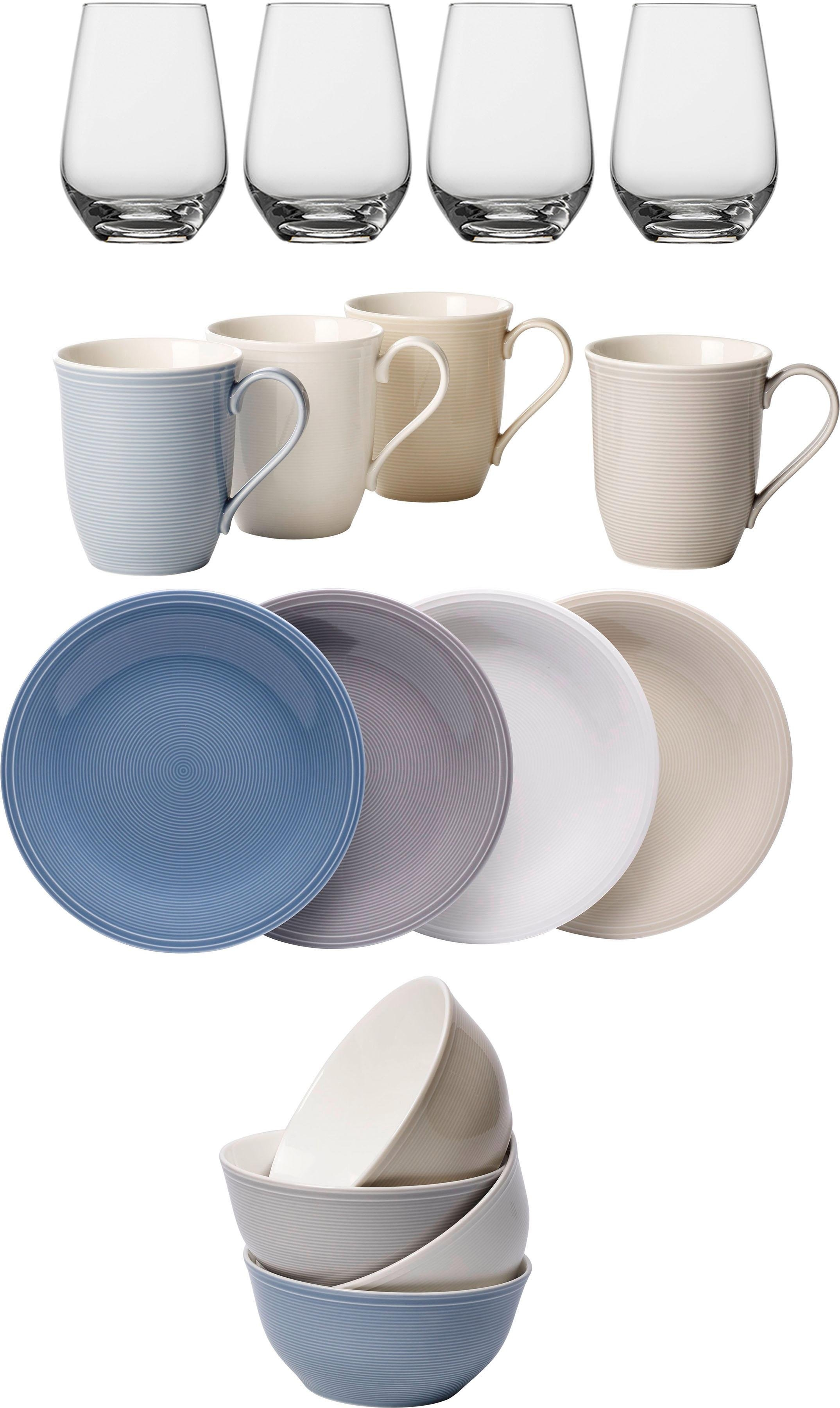 Villeroy En Boch Borden.Vivo Villeroy Boch Group Combi Servies Color Loop