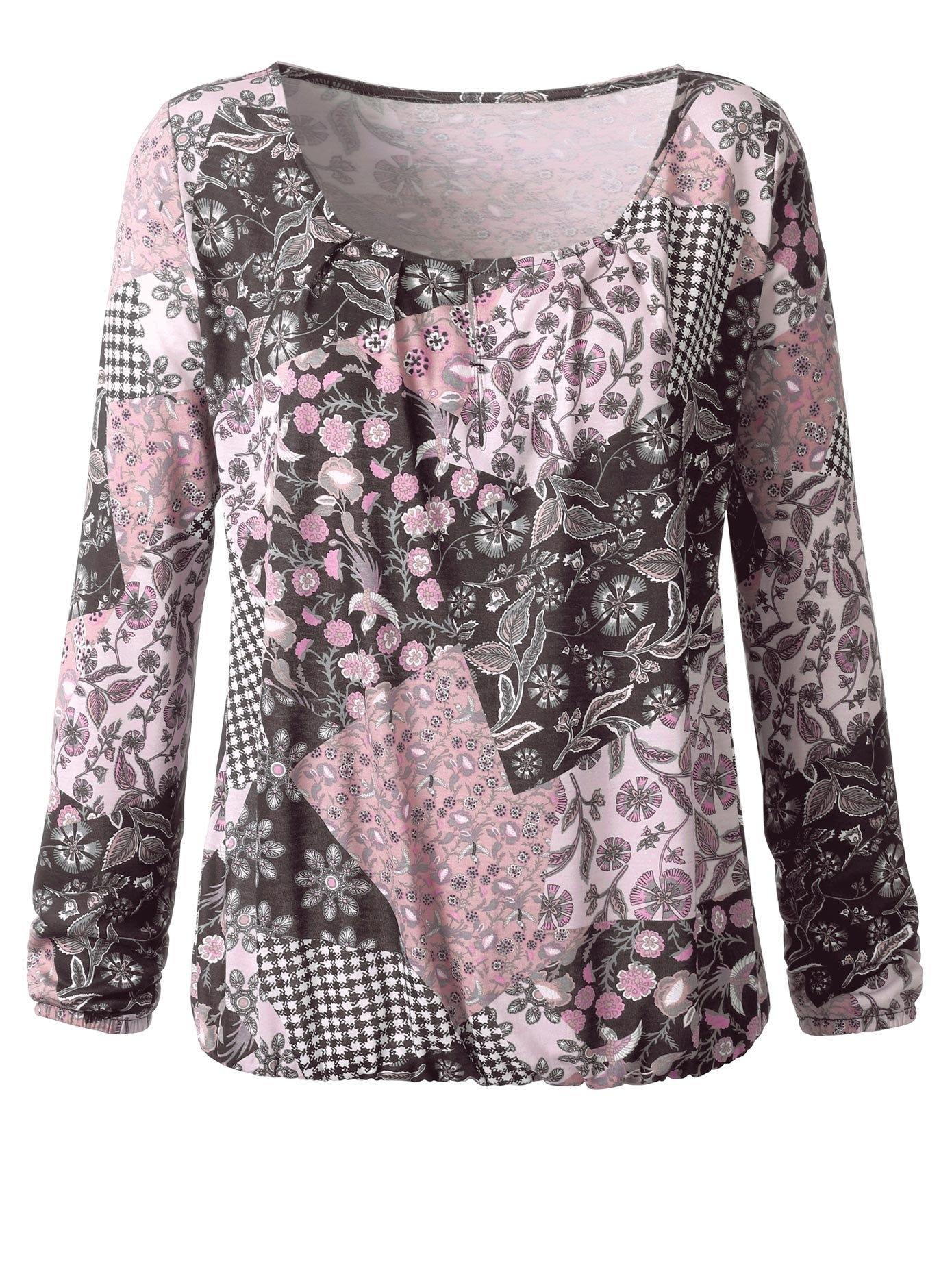 Classic Inspirationen Shirt in trendy patchwork-look goedkoop op otto.nl kopen