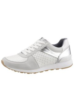s.oliver sneakers zilver