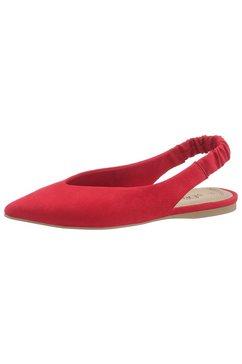 s.oliver red label slingpumps rood