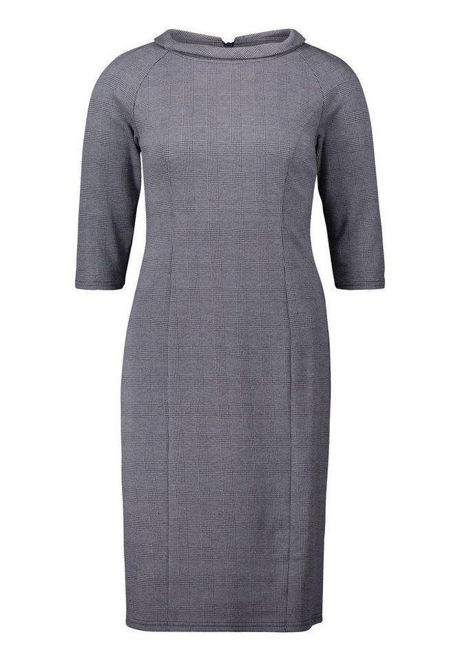 Betty Barclay Geruite jurk blauw