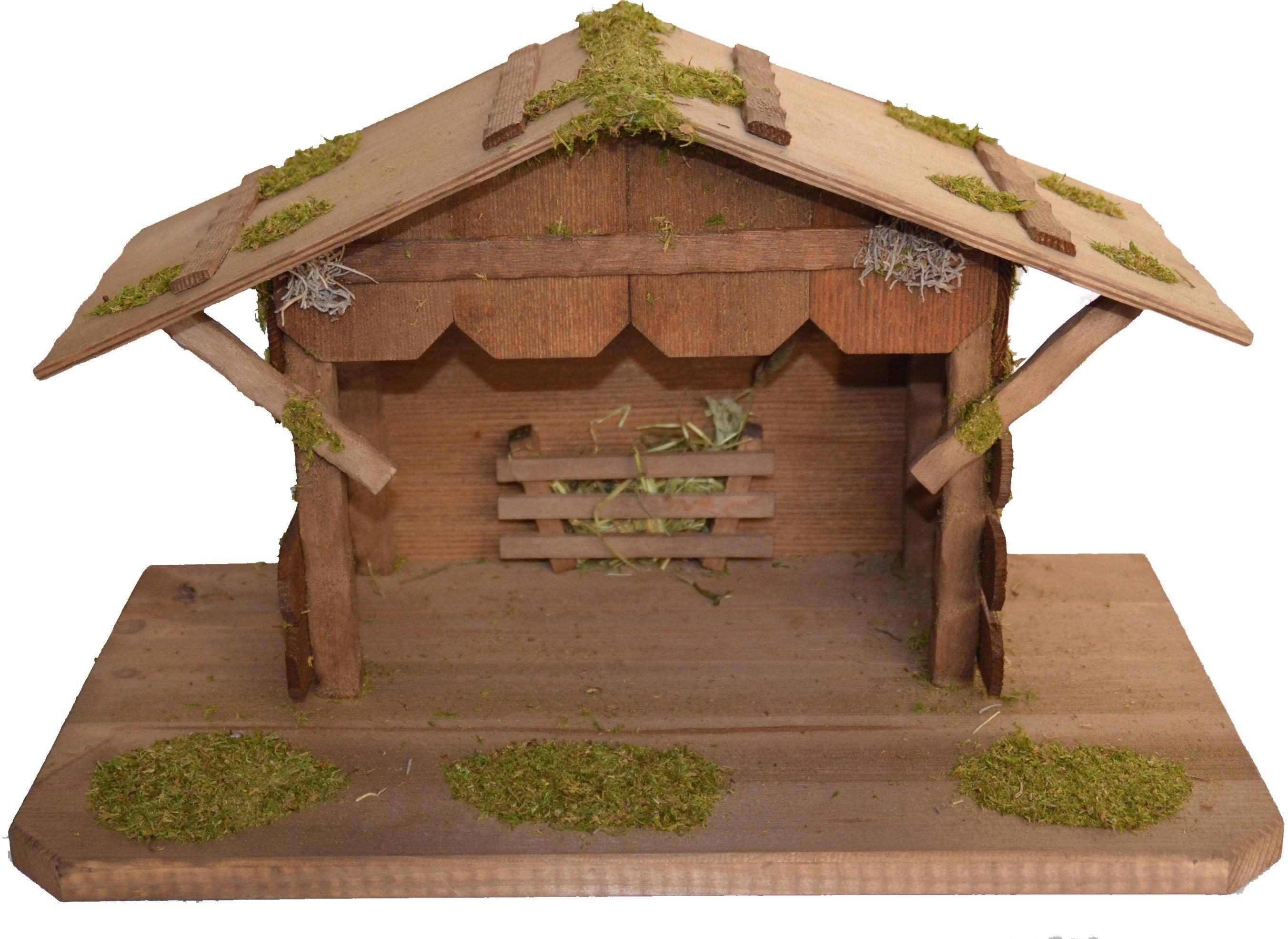 Alfred Kolbe kribbe Kerststal tot 12 cm figuren Echt hout (1-delig) nu online kopen bij OTTO