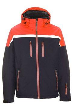 killtec ski-jack »helgro« oranje
