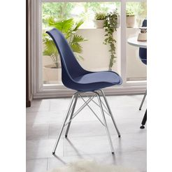 steinhoff stoel (set van 2) blauw