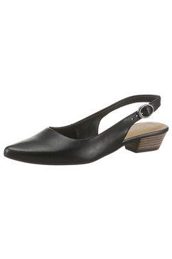 tamaris slingpumps »trina« zwart