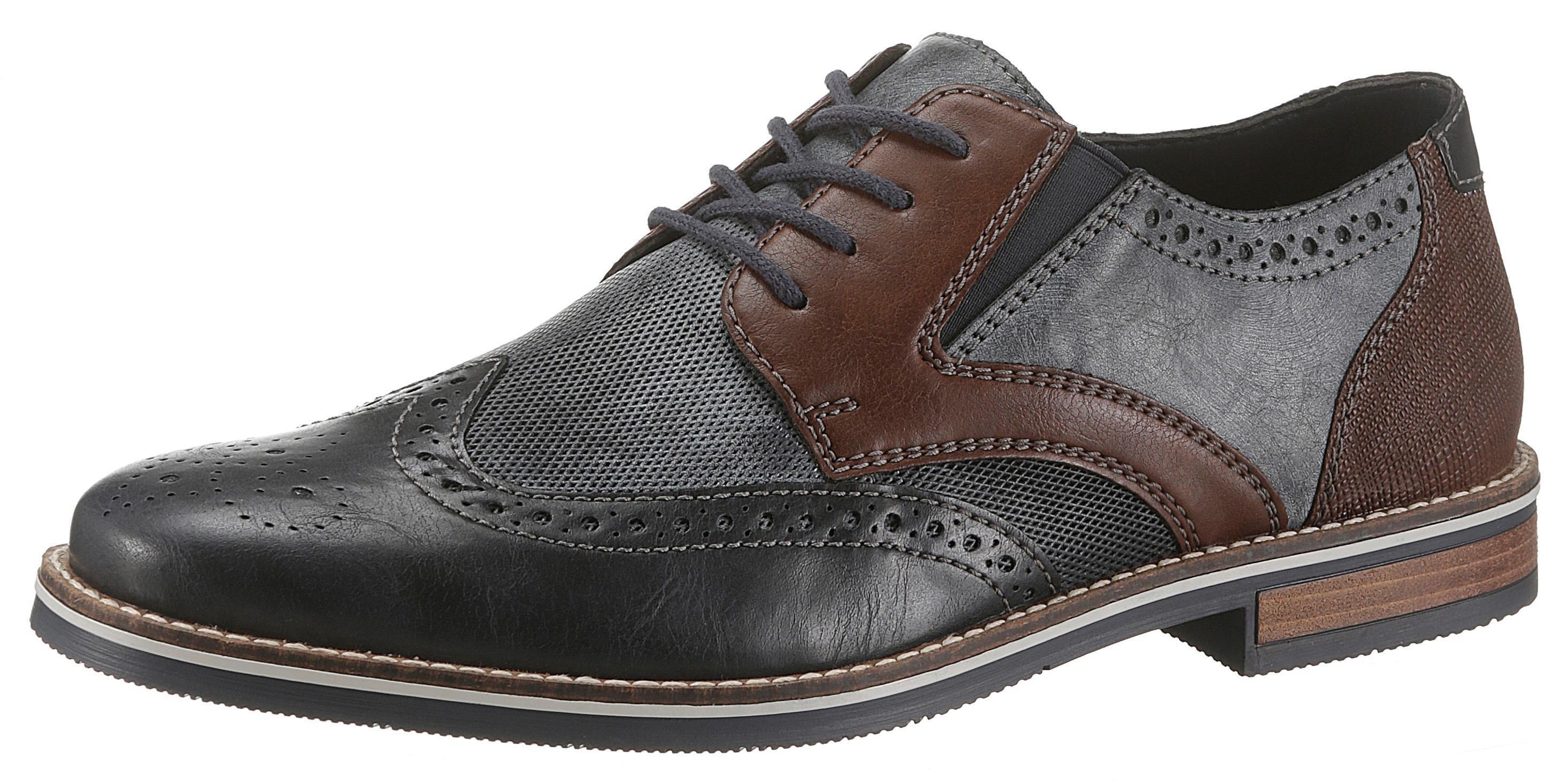 Rieker schoenen met Boedapest-perforatie nu online bestellen
